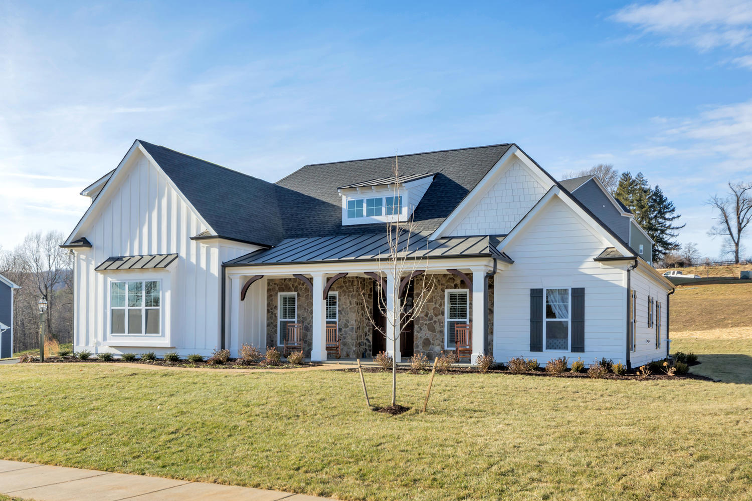 Craig Builders home plans in the Oak Hill Farm community.