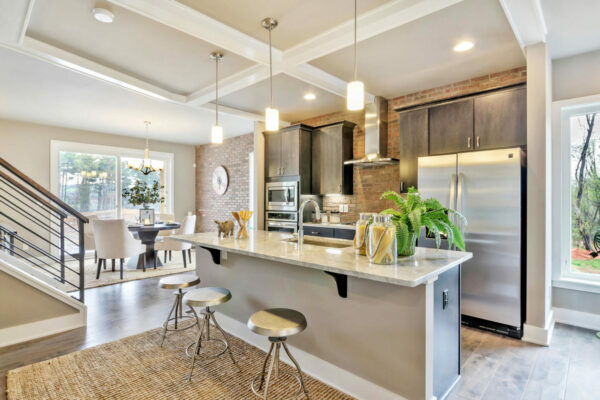Rooftop Terrace Townhomes Kitchen.