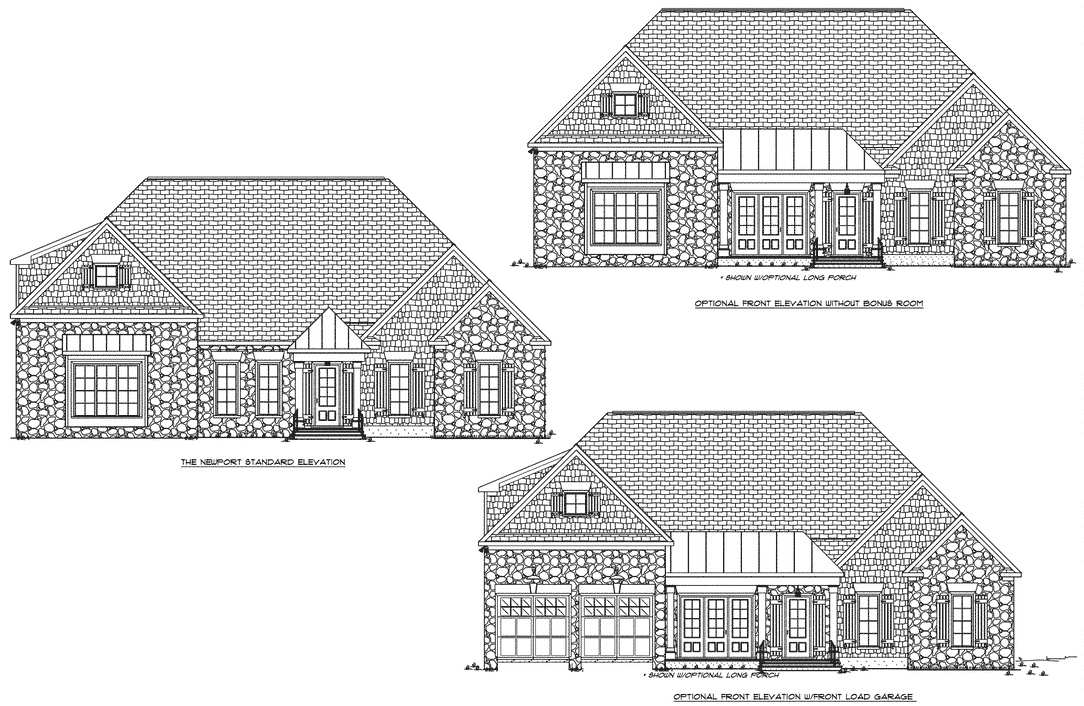 craig-builders-Glenmore-Newport-FRONT-ELEV-STND