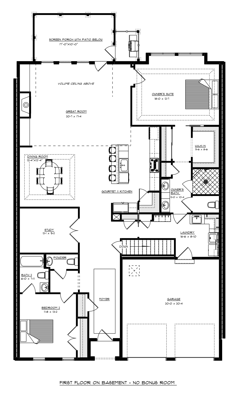 406 Astel St Floorplan First Floor