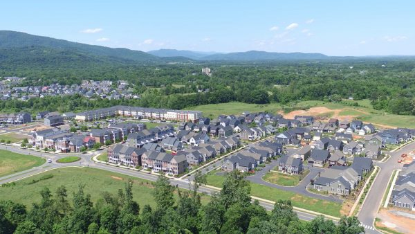 Aerial view of Old Trail Village