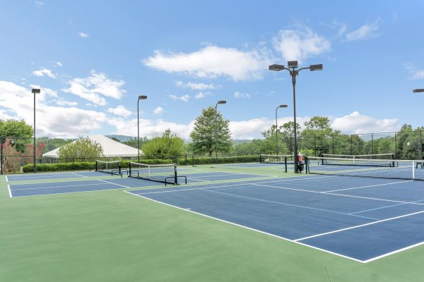 Glenmore lighted tennis courts.