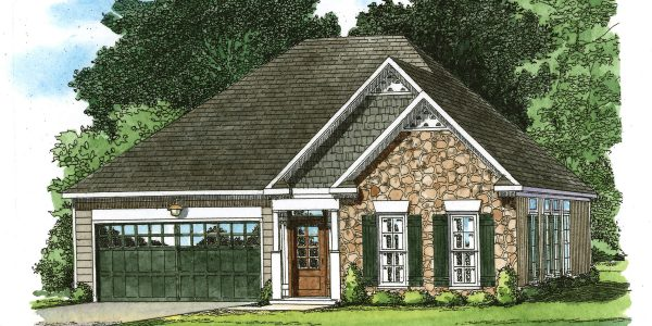 Artist's rendition of The Pavilion from Craig Builders.
