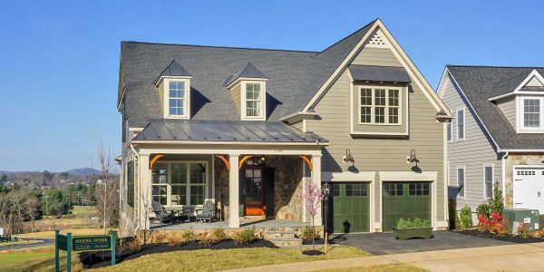 Exterior of The Fairway home plan from Craig Builders.