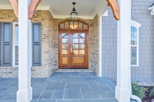 Entrance to Craig Builders home in Foothill Crossing and Westlake