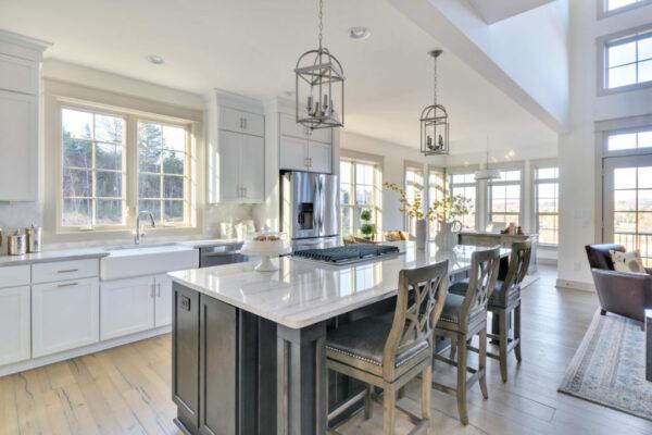 Fairway model home kitchen.